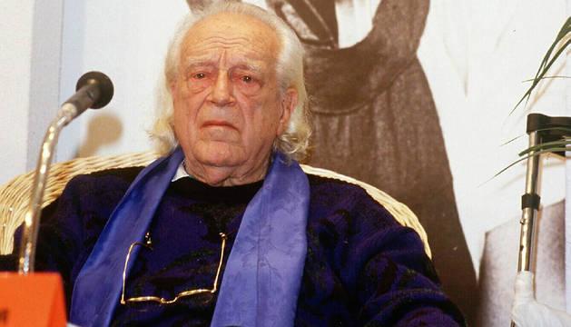 Rafael Alberti, en 1987.