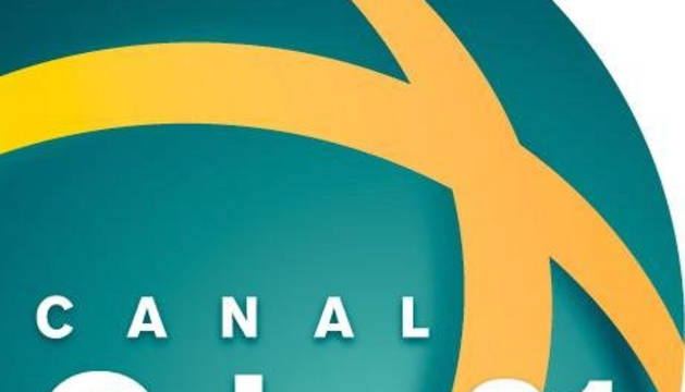 Logotipo del Canal Orbe 21.
