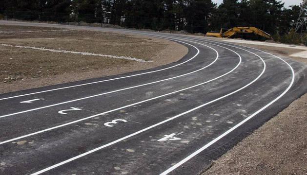 Indignación por el asfaltado de las nuevas pistas en Barañáin