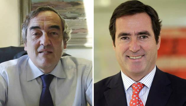 Rosell y Garamendi.