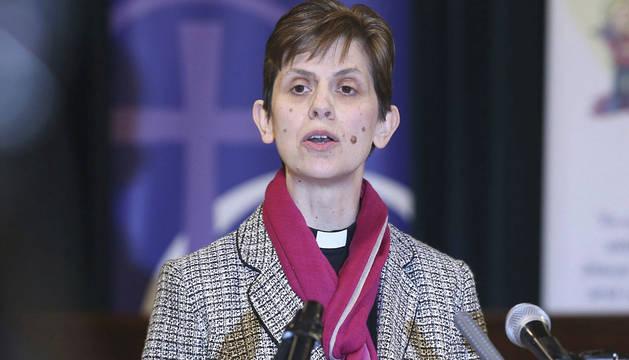 La reverenda Libby Lane, nombrada obispa de Inglaterra.