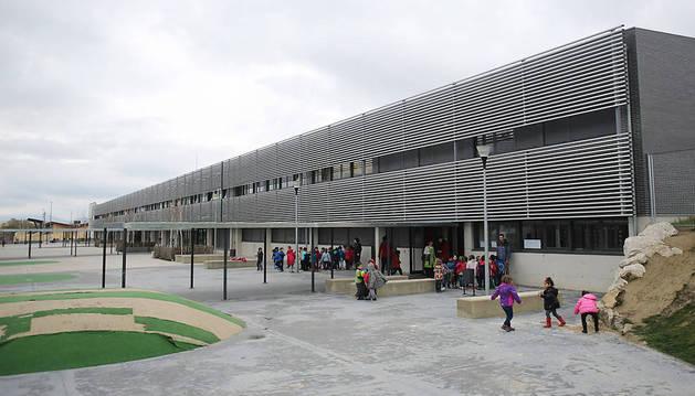 Aulas de Primaria del colegio de Sarriguren.