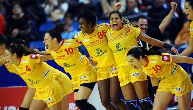 Las 'Guerreras' celebran el pase a semifinales