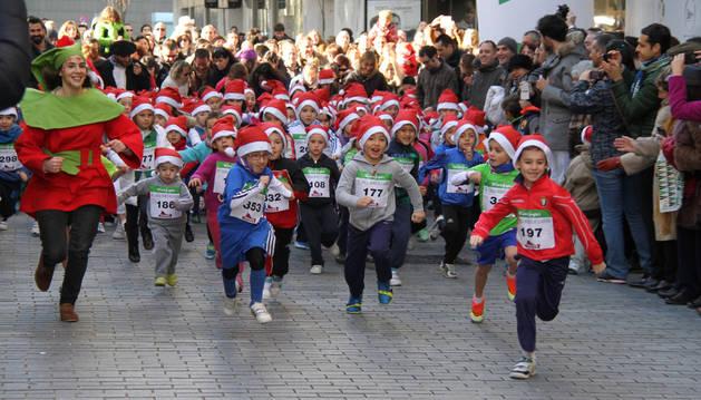 Carrera Infantil de Navidad de 2014