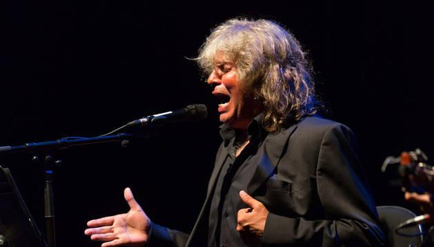 José Mercé, en su actuación el pasado verano en Baluarte.