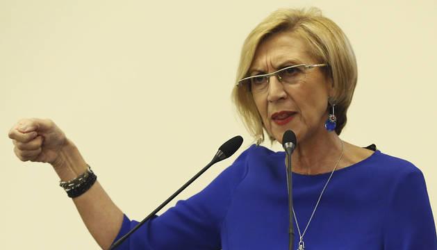 Rosa Díez no dimitirá como líder de UPyD, pese a las críticas internas