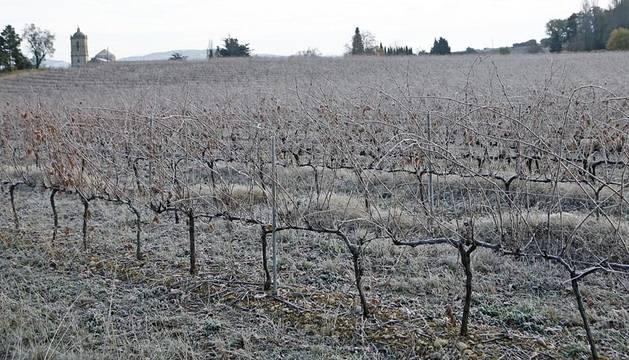 El invierno ha arrancado este lunes con heladas en Navarra