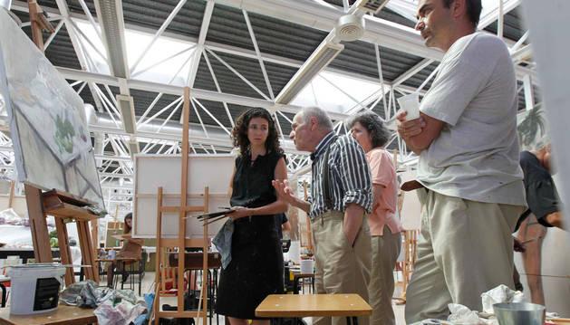 El taller 'Maestros de la figuración', en su edición de 2012