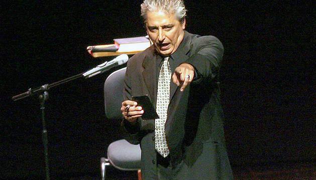 Anthony Blake, en una actuación en 2005 en Pamplona