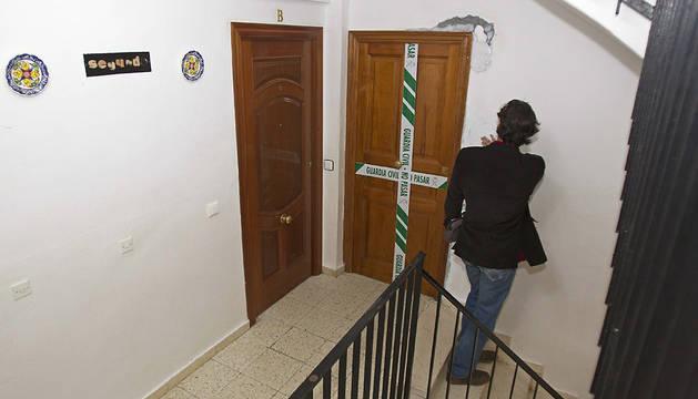 Vivienda donde murió una mujer en Sevilla en 2012.