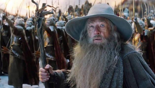 Imagen de la tercera parte de 'El Hobbit'
