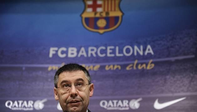 Bartomeu, presidente del Barça