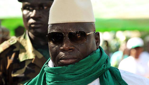 Yahya Jammeh, presidente de Gambia.