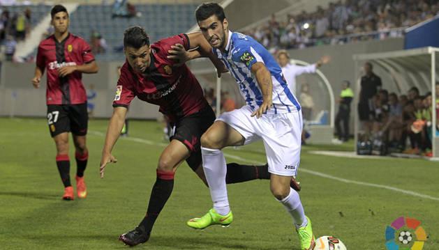 Mikel Santamaría, contra el Mallorca