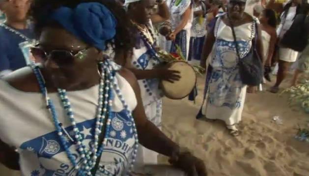 Rituales en Brasil y Perú para saludar al nuevo año