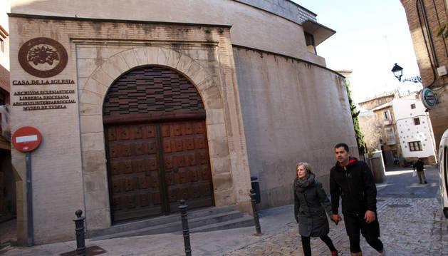 Imagen exterior del Palacio Decanal