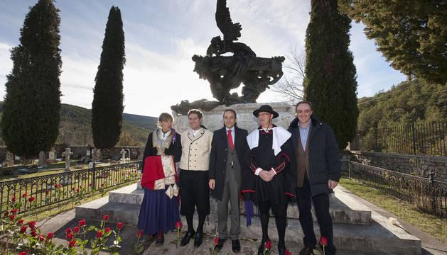 Roncal conmemora el 125 aniversario de la muerte de Julián Gayarre
