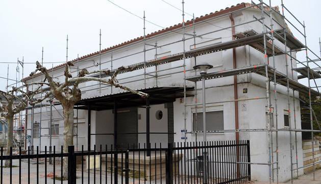 Albergue municipal de peregrinos Isaac Santiago de Los Arcos.