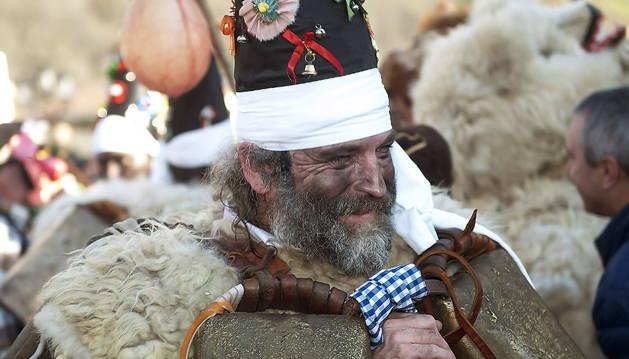 Uno de los personajes tradicionales del carnaval de La Vijanera