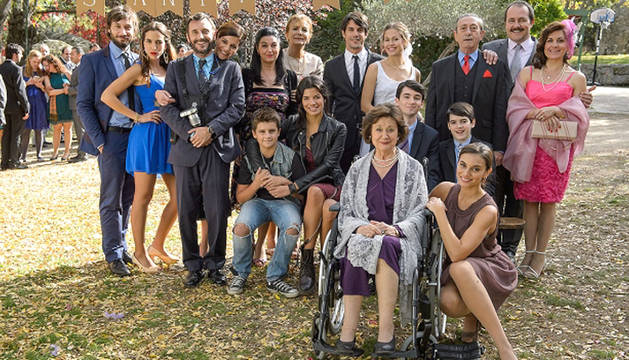 Imagen de algunos de los personajes de la nueva serie.