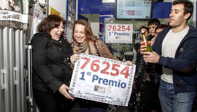 Celebración del sorteo de El Niño en 2014