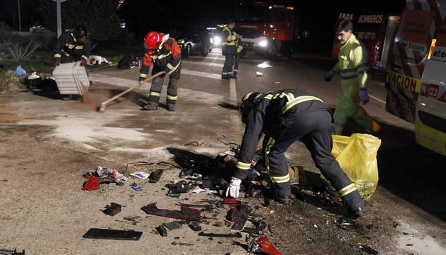 Doce fallecidos en ocho accidentes de tráfico durante el fin de semana