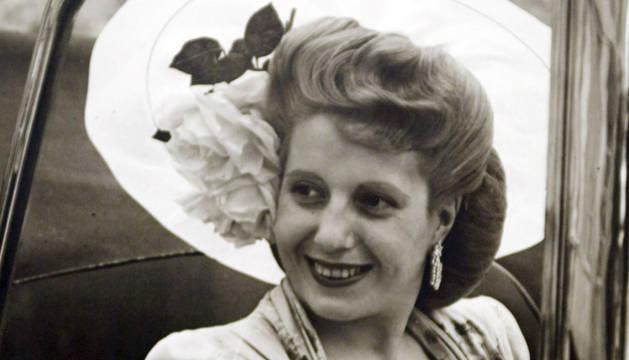 'Eva Perón en imágenes' rememora el mito en París