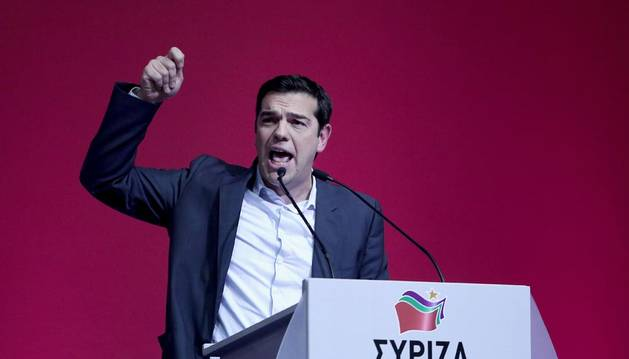Syriza lucha contra el miedo y recalca que Grecia seguirá en euro