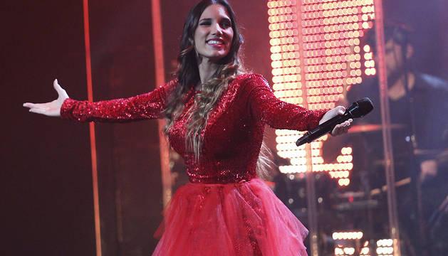 India Martínez, en el cierre del Actual 2015.