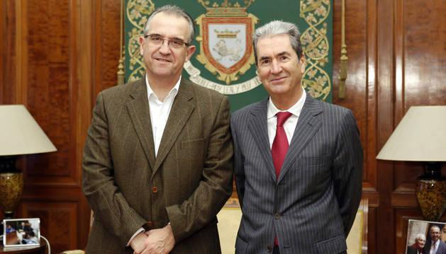 Enrique Maya y Jesús María Arlabán