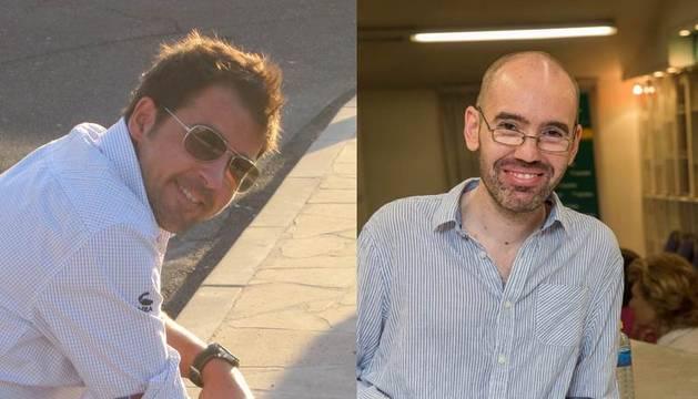 Ignacio Lloret y Daniel Aldaya