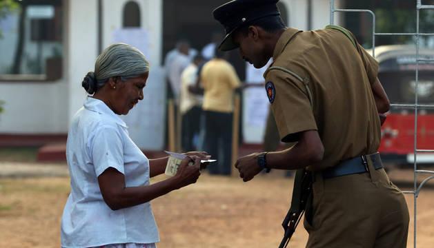 Tranquilidad y ausencia de incidentes en las elecciones de Sri Lanka