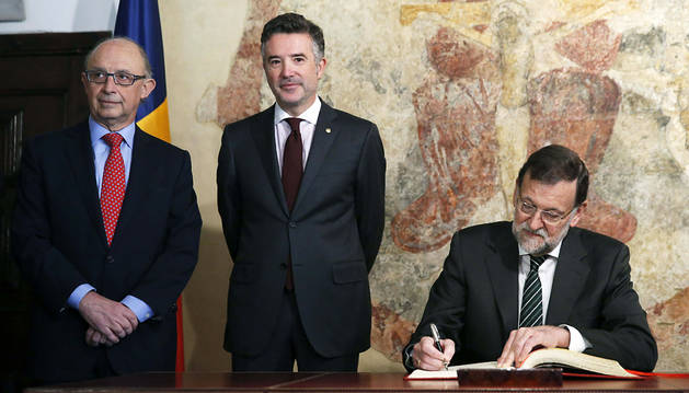 España y Andorra firman un convenio para evitar la evasión fiscal