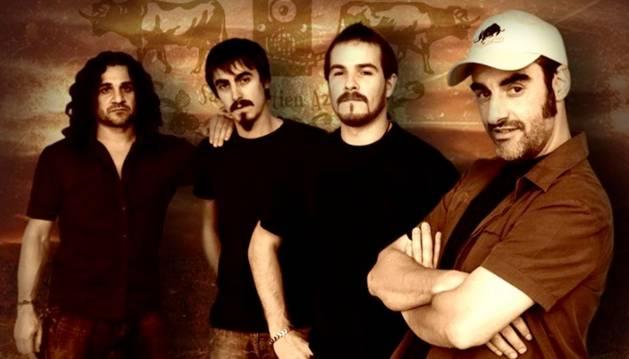 El grupo de rock Gatibu