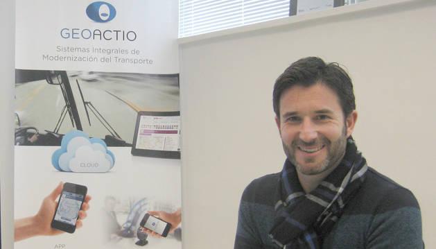 Pello Gámez, director comercial de Geoactio