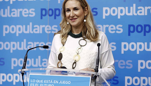 Ana Beltrán, parlamentaria del PPN.