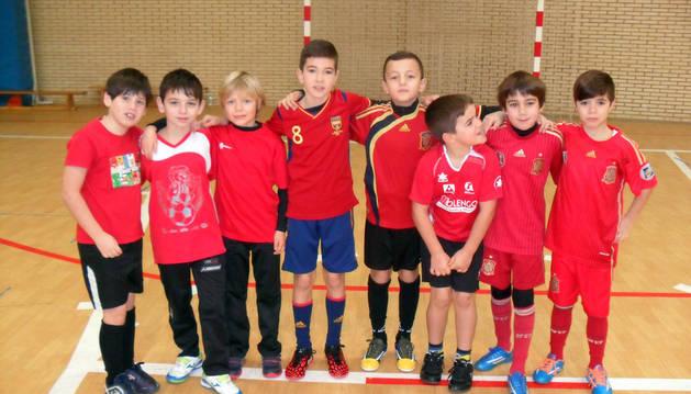 Diez equipos en el torneo de fútbol sala de Cintruénigo