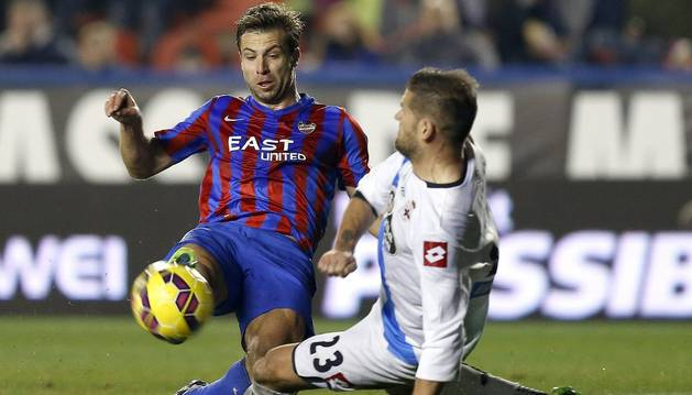 Ivanschitz, contra el Deportivo
