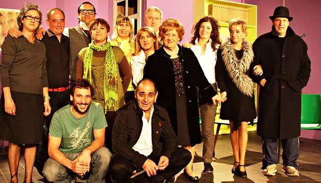 El éxito del grupo de teatro Resa le lleva a actuar fuera de Andosilla