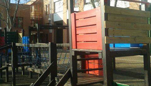 Sin renovar los parques infantiles de Barañáin