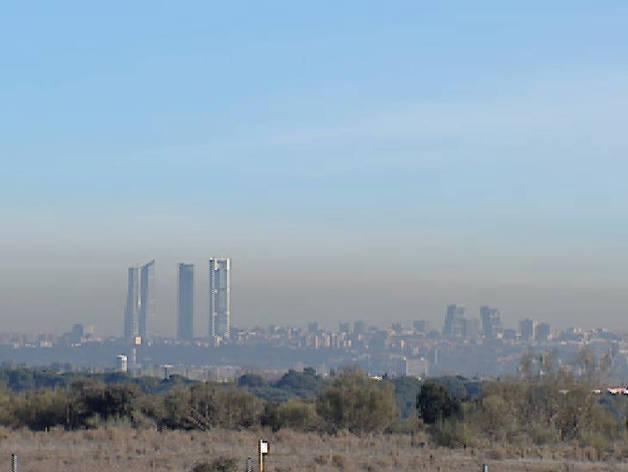 La polución se cierne sobre Madrid