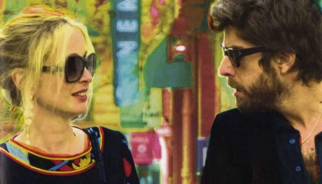 Julie Delpy y Adam Golberd, protagonistas de '2 días en París'.