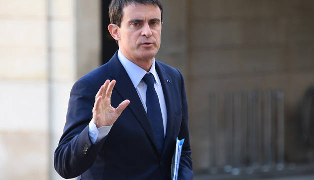 Alejandro Valls, primer ministro francés.