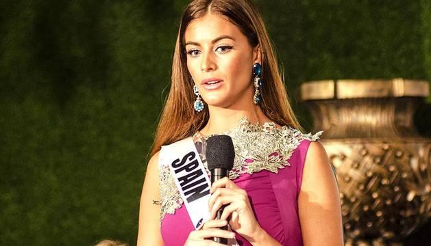Desiré Cordero, candidata española a Miss Universo.