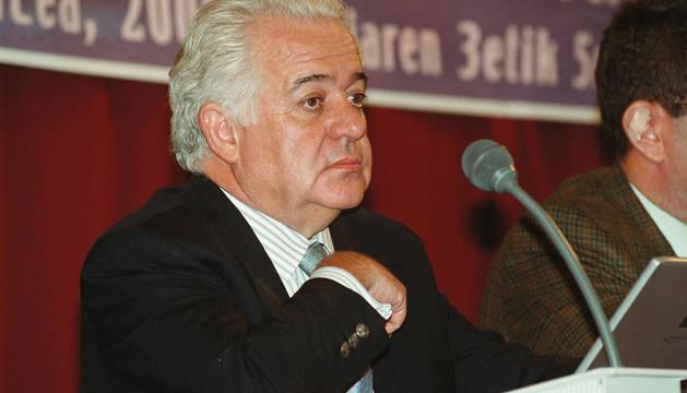 El psiquiatra Juan José López-Ibor, en 2000.