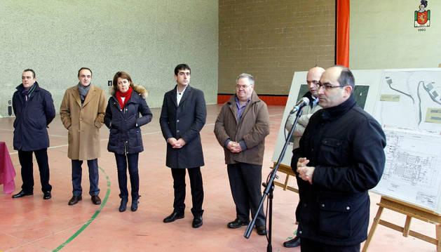 En la imagen, el alcalde de Ultzama, Patxi Tornaría