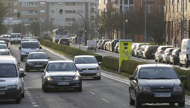El radar de la avenida San Jorge, el que más multas puso en 2014
