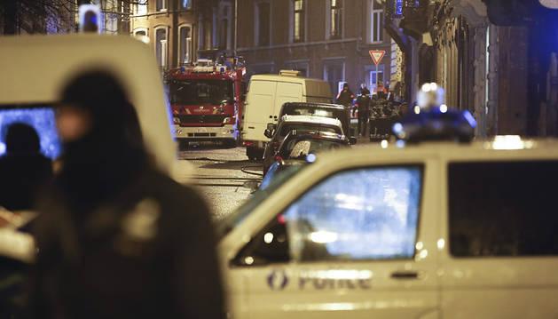 Dos muertos en una operación antiterrorista en Bélgica