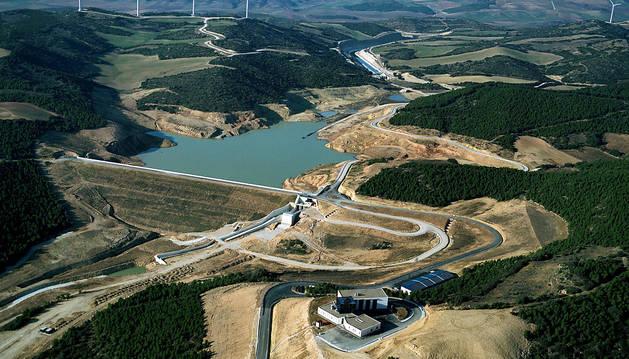 Las obras de ampliación del Canal de Navarra se inician el día 26 en Falces