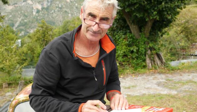 El alpinista francés Hervé Gourdel, en una imagen de archivo